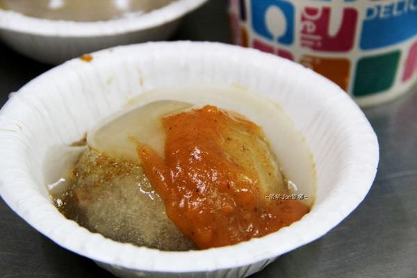 沙鹿肉圓春,車站前的美味,肉圓皮Q彈,醬汁不錯。